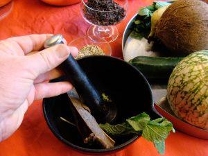Traditionele bereiding van Ayurvedische medicijnen en producten