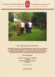 Jaarverslag 2010 voorkant