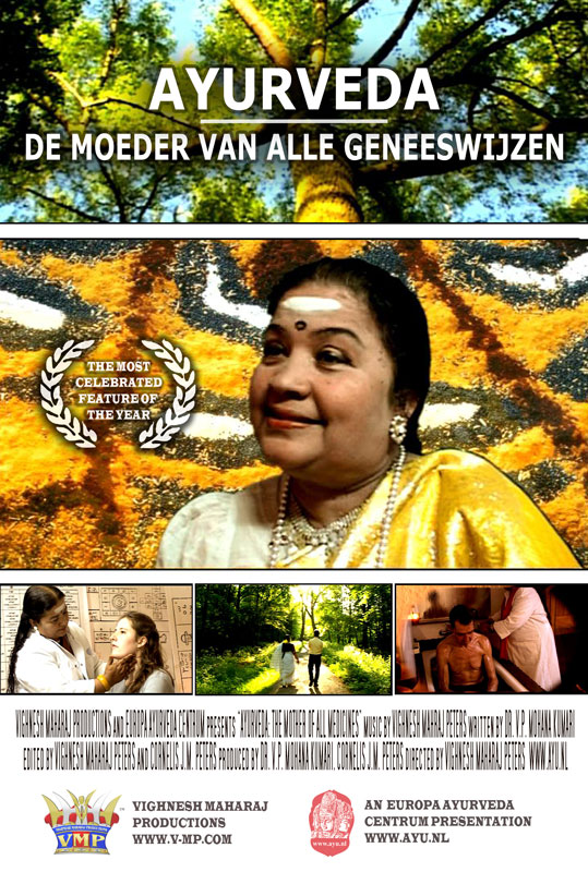 Ayurveda Moeder van alle Geneeswijzen Film-Poster-
