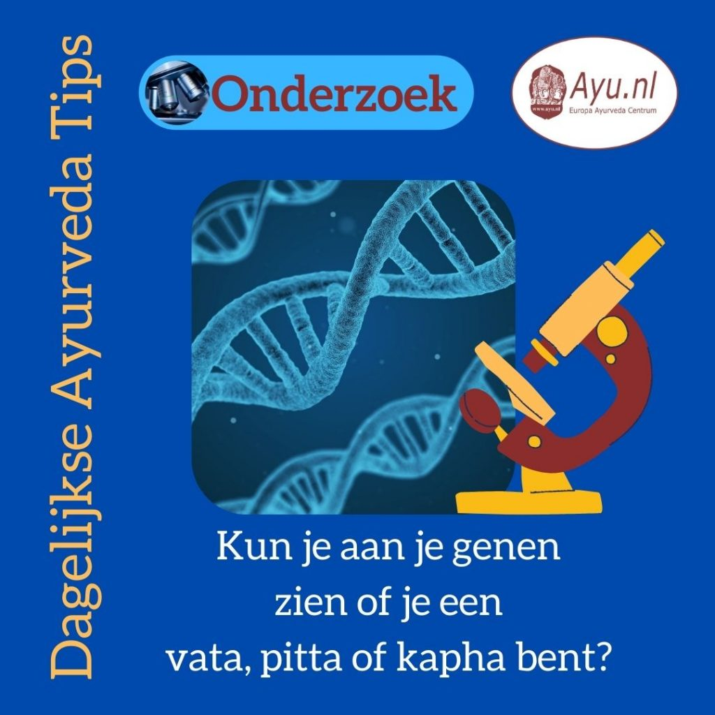 Genen doshas en Ayurveda