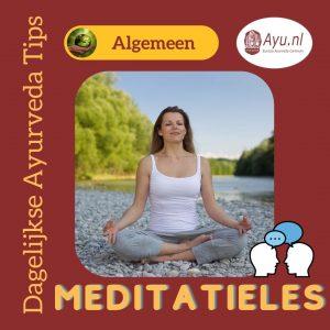 Meditatieles