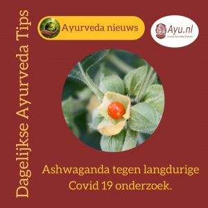 Ashwaganda langdruige Covid 19