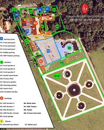 Europa Ayurveda Centrum plattegrond